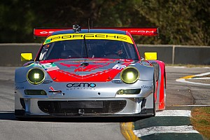 ALMS Practice report Muscle Milk Pickett, Flying Lizards top night practice at Road Atlanta