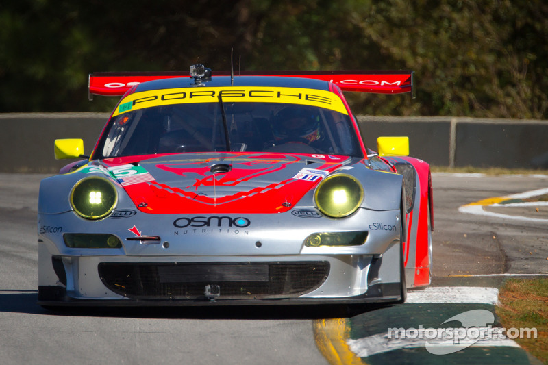 Muscle Milk Pickett, Flying Lizards top night practice at Road Atlanta