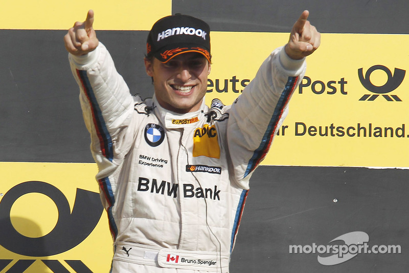 A heart-stopping finale: BMW driver Bruno Spengler is the 2012 DTM champion