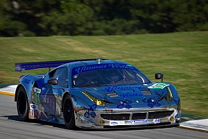ALMS Race report ESM's No. 1 Ferrari wins Petit Le Mans Michelin Green X Challenge