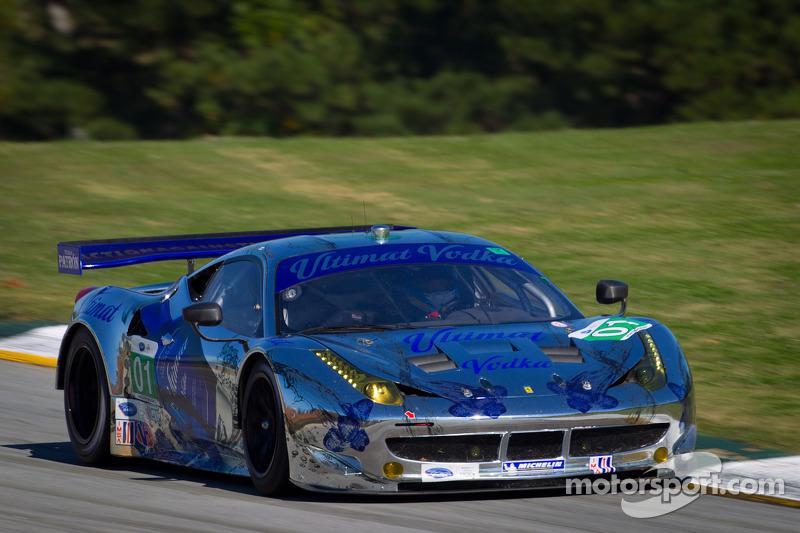 ESM's No. 1 Ferrari wins Petit Le Mans Michelin Green X Challenge
