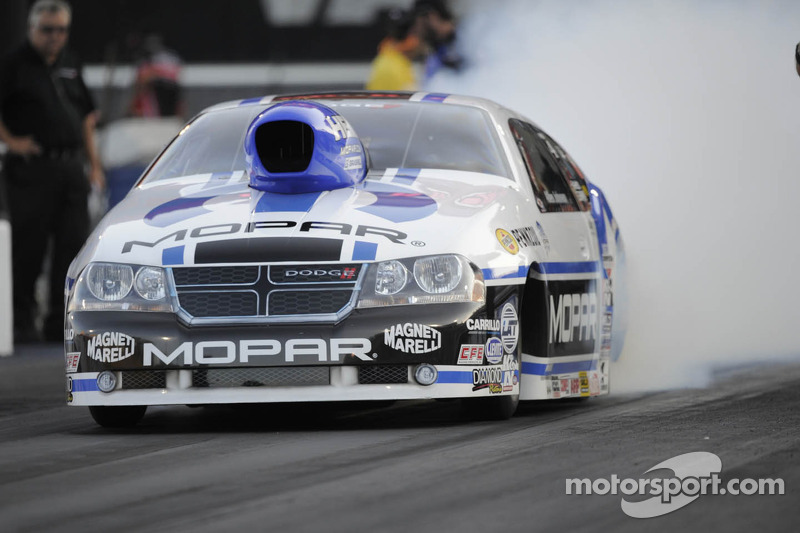 Mopar Pro Stock driver Johnson earns preliminary pole at Las Vegas