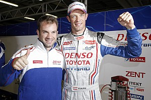 WEC Qualifying report Third pole position of the season for Toyota Racing