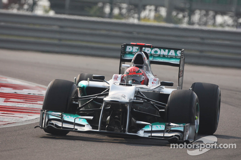 Schumacher to keep 2012 Mercedes for collection