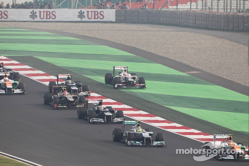 The Indian GP was a real disappointment for the Sauber F1 Team