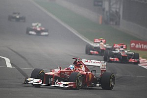 Alonso says Ferrari row reports 'not true'