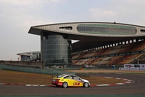 WTCC Testing report MacDowall sets fastest time in Shanghai in pre-event Friday test day
