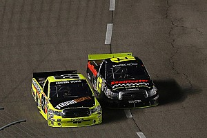 NASCAR Truck Race report Johnny Sauter leads Toyota to the win at Texas