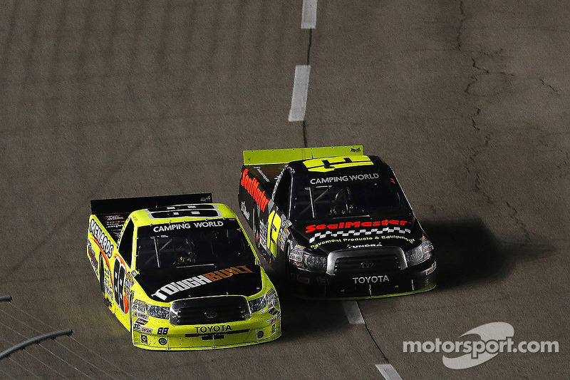 Johnny Sauter leads Toyota to the win at Texas