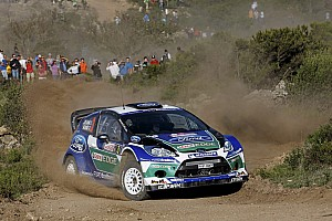 WRC Preview Ford aims high with Fiesta at world championship finale in Spain