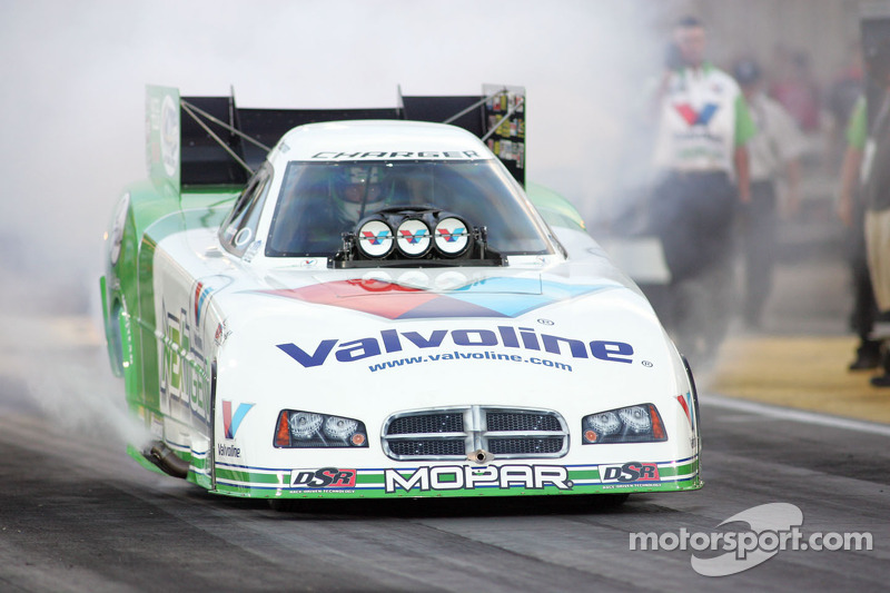 Beckman right where he wants to be heading to finale at Pomona