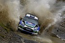 Latvala holds third for Ford after rain brings attrition in Spain