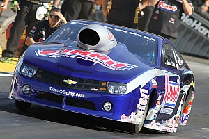 NHRA Qualifying report Line runs into third spot after two qualifying sessions for NHRA finals in Pomona