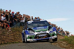 WRC Leg report Ford's smooth operator Latvala climbs the order in Rally de España