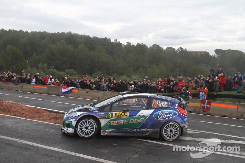 Latvala clinches third in championship* with Spanish podium