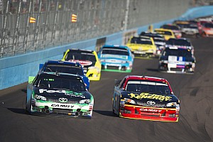 NASCAR Sprint Cup Race report Hamlin leads Toyota drivers in Phoenix 500 with second place finish
