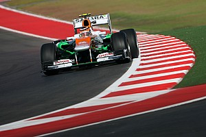 Formula 1 Practice report Sahara Force India looking for more grip after Friday in Austin