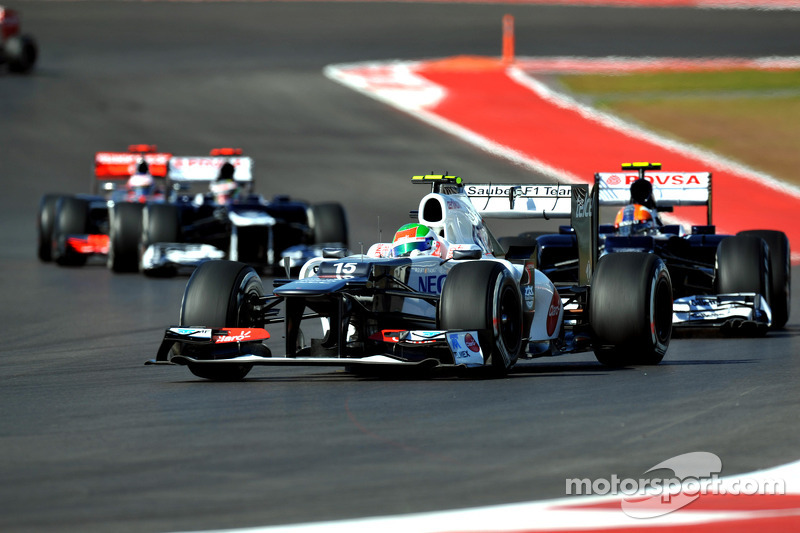 Weekend with ups and downs for Sauber on United State GP