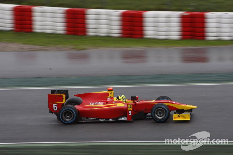 Racing Engineering prepared for testing at Jerez de la Frontera Circuit