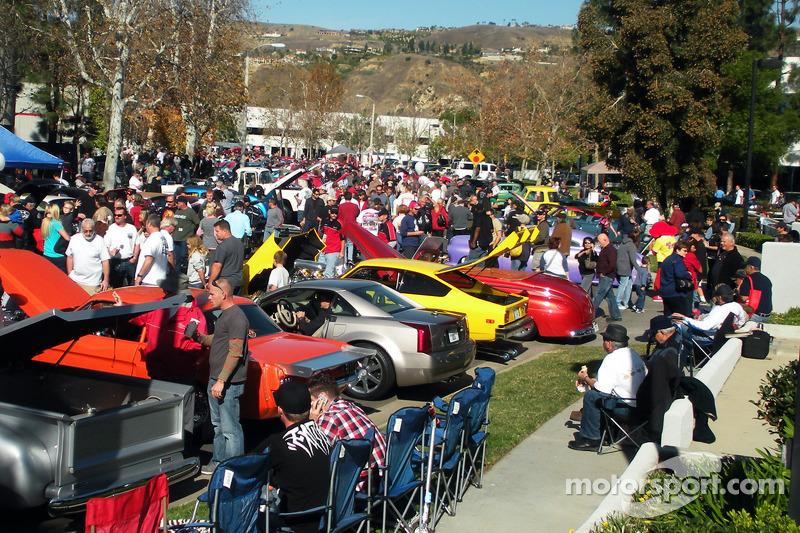 2012 Holiday season kicks off John Force Holiday Car Show