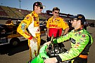 Drivers and teams get in final testing of year in Fontana
