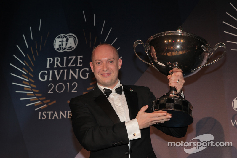 Chevrolet receives awards at FIA gala