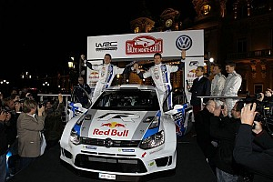 WRC Breaking news Volkswagen unveils Polo R in Monaco