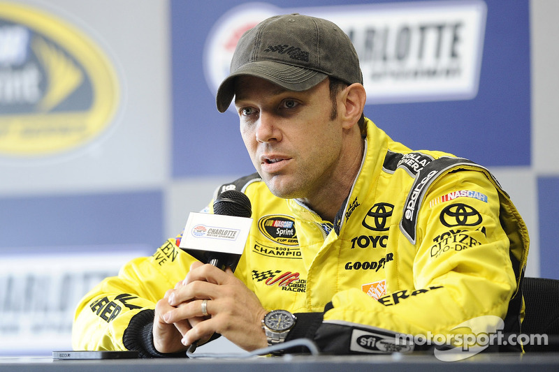 Kenseth impressed with JGR Toyota after morning Charlotte testing session day 1