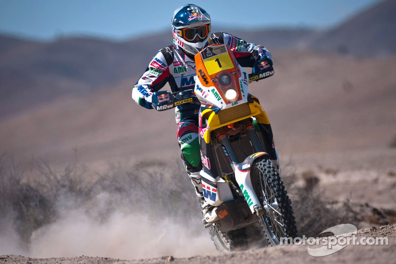 KTM rider Marc Coma will not run the 2013 Dakar