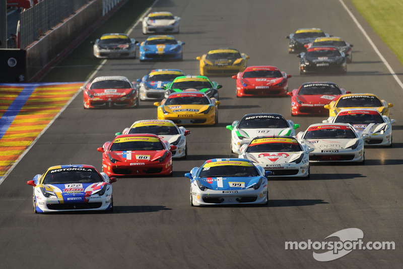 Ferrari Challenge series brings many novelties for 2013