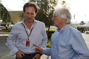 Formula 1 Commentary Ecclestone wants Red Bull domination to end