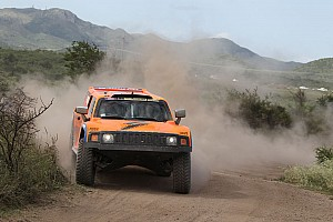 Dakar Stage report Gordon ended up fifth on stage 10 in his Hummer