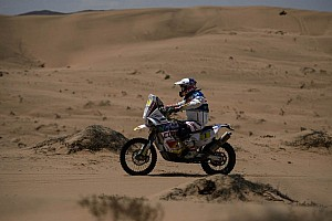 Dakar Stage report Lopez puts on stunning performance on home soil for stage 13 win
