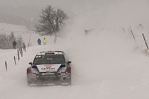 WRC Race report Østberg propers for Qatar M-Sport team in Rallye Monte Carlo