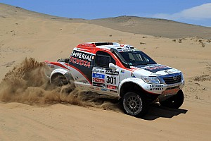 Dakar Breaking news De Villiers and Von Zitzewitz join the Dakar elite