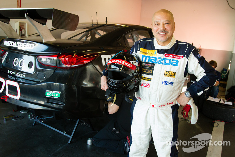 Mazda driver Yojiro Terada talks about the Asian sportscar series