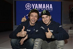 MotoGP Press conference Rossi and Lorenzo back side by side for 2013 MotoGP Championship