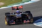 Ricciardo gave the STR8 its official track debut