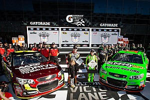 NASCAR Sprint Cup Qualifying report Patrick and Gordon on front row for Daytona 500