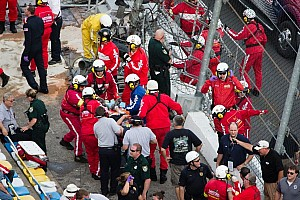 Daytona International Speedway statement on NNS crash