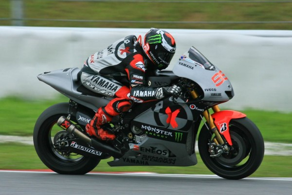 Lorenzo bites back on day two in Sepang