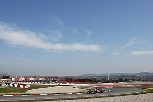 Perez's final day in MP4-28 at Circuit de Catalunya before Melbourne
