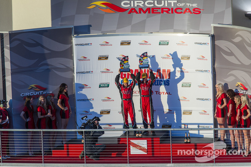 Bob Stallings Racing snaps victory in inaugural GRAND-AM of The Americas