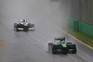 Disappointed Q1 for both Caterham drivers in Australia