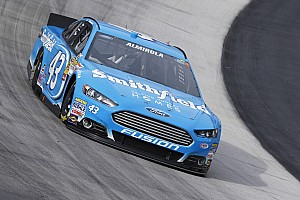 NASCAR Sprint Cup Preview Aric Almirola looks to bounce back in Fontna 400
