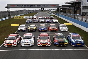 BTCC Breaking news Record 32 cars on the grid for the 2013 season