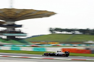 Williams maximizing the package on Sepang Friday practice