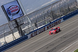 NASCAR Sprint Cup Race report Top-five finish for Kurt Busch at Fontana 400