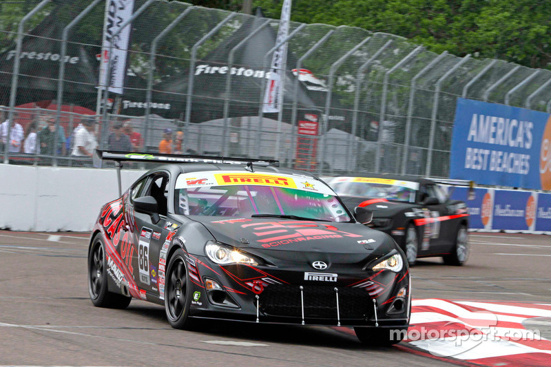 Ken Stout Racing debuts their Scion FR-S on the streets of St. Petersburg