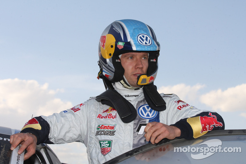 VW's Ogier forced to withdraw from Rally Portugal warmup event